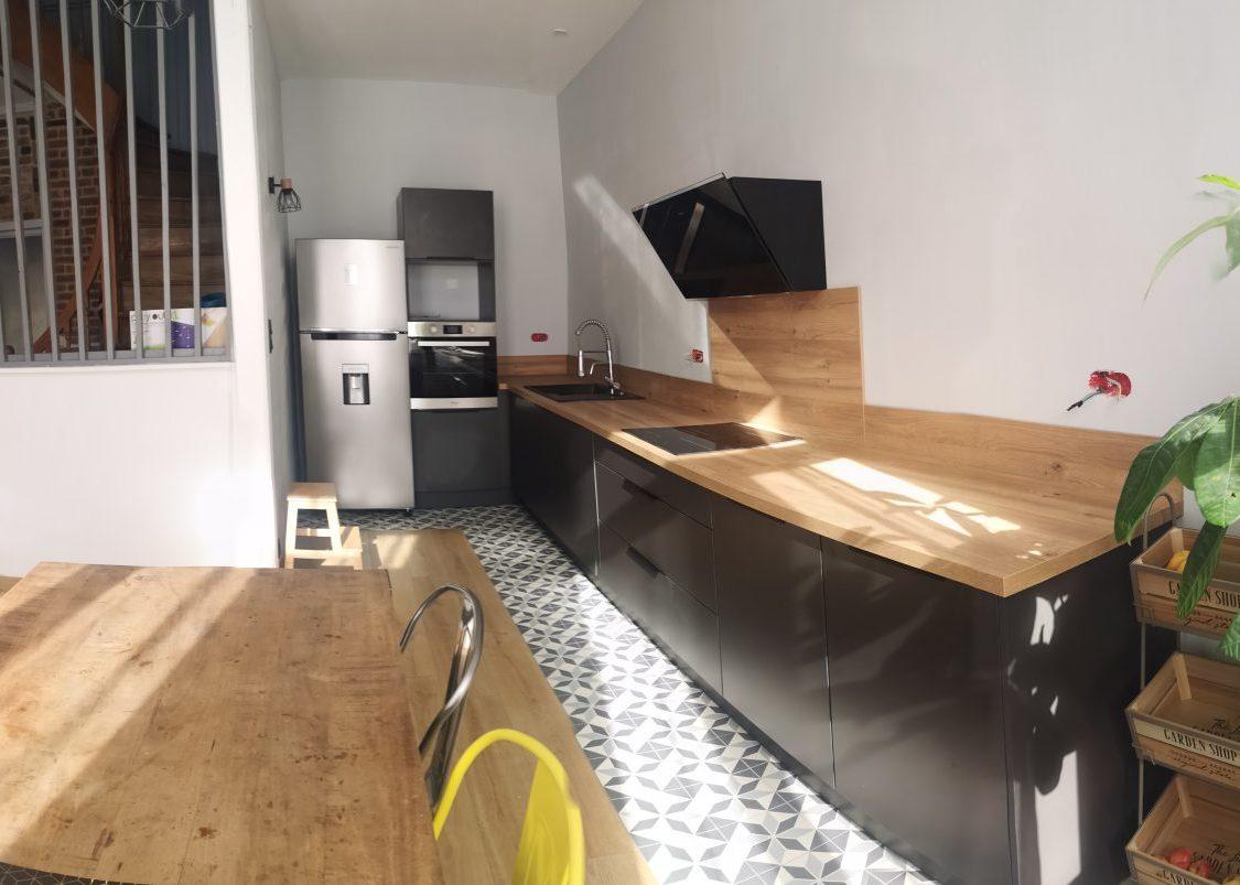 Vue d'ensemble de la nouvelle cuisine